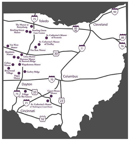 Ohio Map HCF